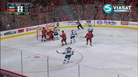 Sammandrag: Calgary - Minnesota 3-5
