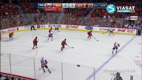 Sammandrag: Calgary-NY Islanders (1-2)