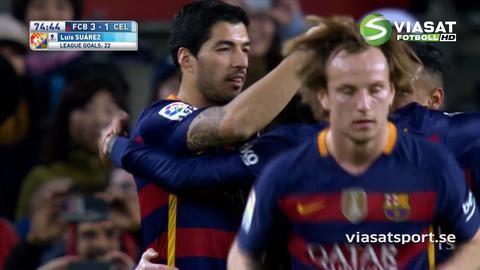 Sammandrag: Celta Vigo förnedrade av Barca