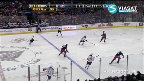 Sammandrag: Columbus - Boston 1-2 (OT)