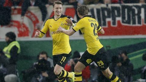 Sammandrag: Dortmund vidare i Tyska Cupen