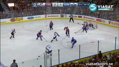 Sammandrag: Edmonton-Colorado 2-3