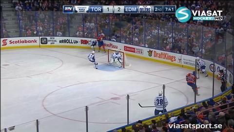 Sammandrag: Edmonton-Toronto 5-2
