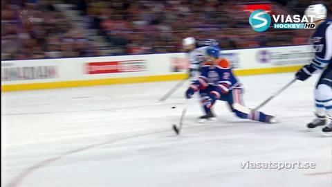 Sammandrag: Edmonton-Winnipeg 1-2 (efter straffar)