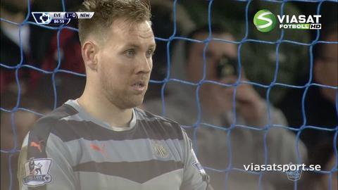 Sammandrag: Evertons första straffar sänkte Newcastle