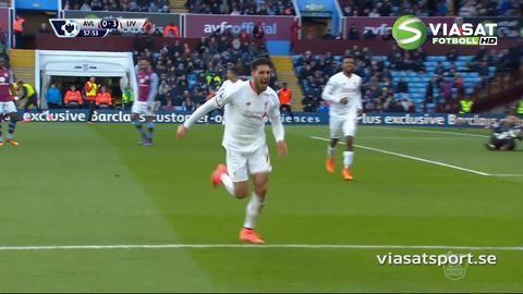 Sammandrag: Liverpool körde över Aston Villa