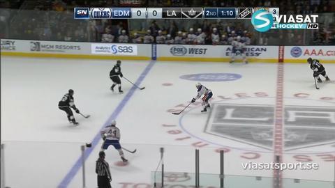 Sammandrag: Los Angeles-Edmonton (2-1)