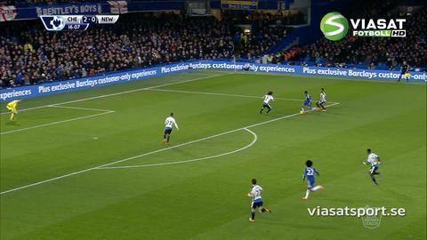 Sammandrag: Mästarklass på Stamford Bridge när Chelsea krossade Newcastle