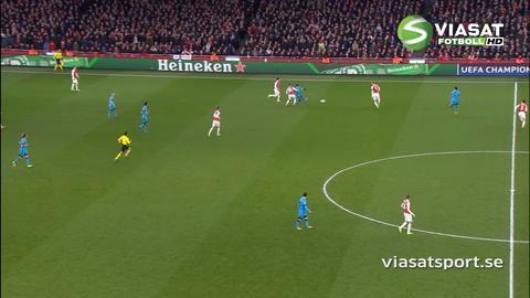 Sammandrag: Messi tvåmålsskytt när Barca malde ner Arsenal