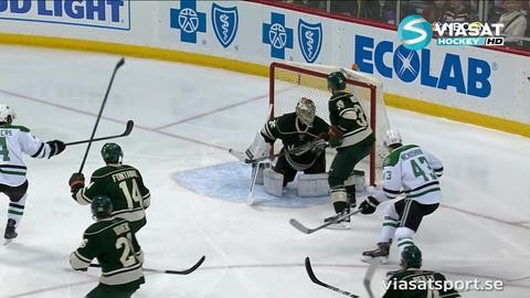 Sammandrag: Minnesota-Dallas 3-4