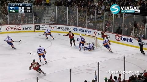 Sammandrag: Minnesota-NY Islanders (1-4)