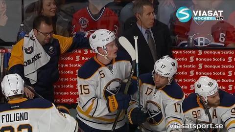 Sammandrag: Montreal-Buffalo: 2-4