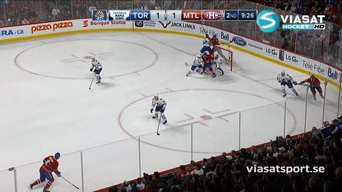 Sammandrag: Montreal - Toronto 4-1