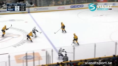 Sammandrag: Nashville-LA Kings 1-2