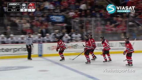 Sammandrag: New Jersey Devils - Los Angeles Kings 1-0
