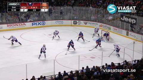 Sammandrag: NY Islanders - Washington 2-3 (OT)