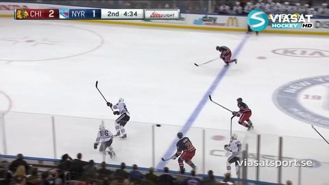 Sammandrag: NY Rangers - Chicago 3-5