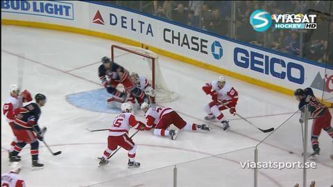 Sammandrag: NY Rangers-Detroit (1-0 OT)