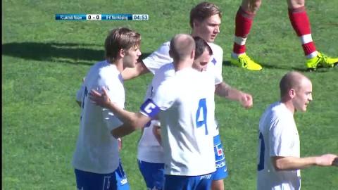 Sammandrag: Se målen när Norrköping kryssade mot Lokomotiv Moskva