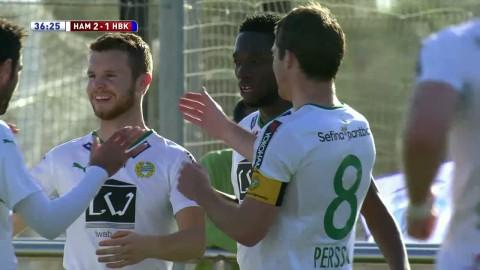Sammandrag: Söderqvist tvåmålsskytt när Hammarby vände och vann