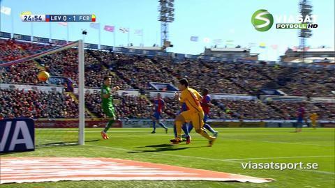 Sammandrag: Suarez matchhjälte när Levante utmanade Barça