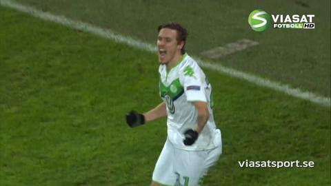 Sammandrag: Suveräna Draxler ordnade segern för Wolfsburg (3-2)
