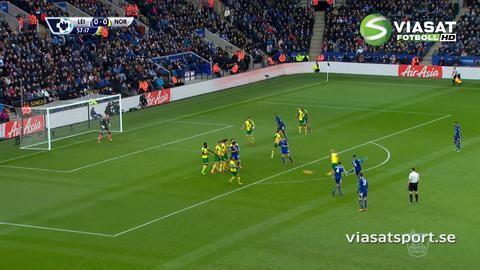 Sammandrag: Ulloa frälste Leicester i sista minuten