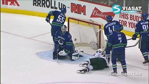 Sammandrag: Vancouver - Minnesota 2-5