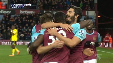 Sammandrag: West Ham-seger efter Ayews hjärnsläpp