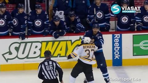 Sammandrag: Winnipeg-Boston 2-6