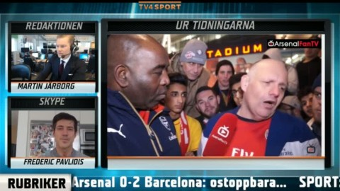 """Se Arsenal-supporterns härdsmälta: """"Det här är skräp"""""""