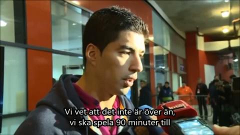 "Suarez om publikens buande på Emirates: ""Det är normalt"""