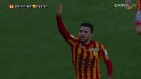 Syrianska chockar Dif - 1-0 i cupen