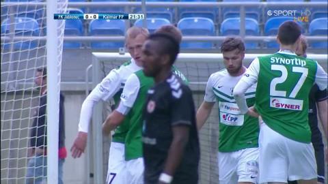 Tjeckerna curlar snyggt in 1-0 mot Kalmar FF