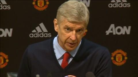 """TV: Frågan Wenger inte vill svara på: """"Då säger ni bara att jag är en dålig förlorare"""""""