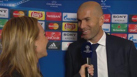 """Zidane efter första CL-seger: """"Det var speciellt"""""""