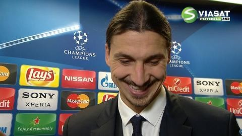 """Zlatan efter segern: """"Jag gör det fantastiskt bra"""""""