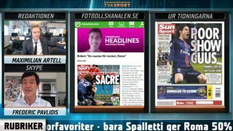 """Zlatan får akta sig i London"""