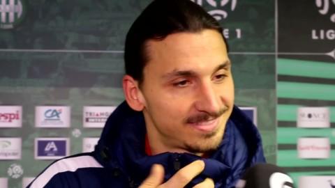 """Zlatan om publiken: """"Det var en god stämning"""""""