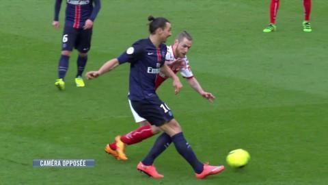 Zlatan stekhet - två mål och två assist för PSG