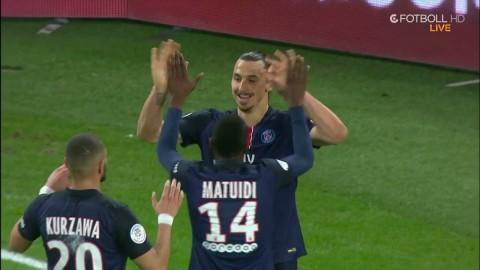 Zlatan uttökar PSG:s ledning till 4-1