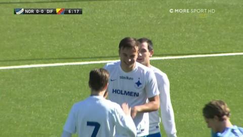 19-åring ger IFK Norrköping ledningen - dunkar in 1-0