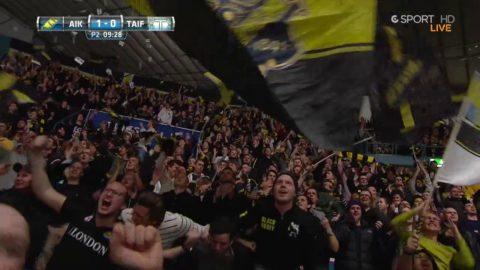 AIK tar ledningen i den avgörande matchen mot Tingsryd