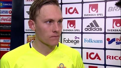 """Augustinsson: """"Jättebra erfarenhet för mig"""""""