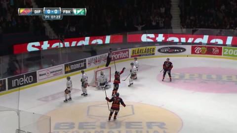 Drömdebut för 17-åringen i Djurgården - gjorde mål direkt