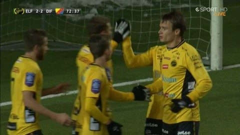 Elfsborg kvitterar - Prodell forcerar in 2-2
