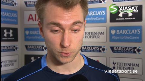 """Eriksen: """"Vi är inte besvikna, men vi vill ha mer"""""""