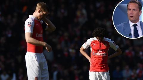 """Experten om Arsenals haveri: """"Det har varit för dåligt"""""""