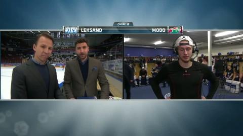 Haukeland åter matchhjälte när Leksand kvitterade i serien