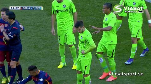 Höjdpunkt: Neymar retade upp Getafe med sina dribblingar